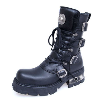topánky NEW ROCK - Classic Boots (373-S1) Black - N-8-29-700-00