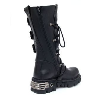topánky NEW ROCK - 5-Buckle Boots (402-S1) Black