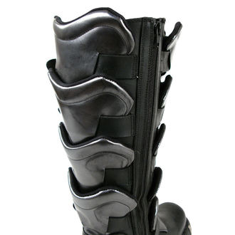 topánky NEW ROCK - Gladiator Boots (738-S1) Black-Grey