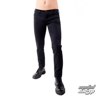 nohavice pánske Black Pistol - Close Pants Denim Black - B-1-50-001-00