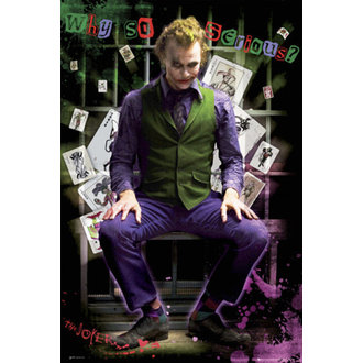 plagát - Batman (Dark Knight) - Joker Jail - FP2100 - GB posters