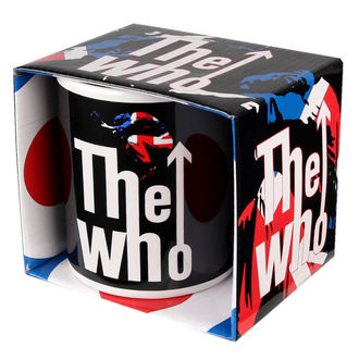 hrnček The Who - Union Jack, ROCK OFF, Who