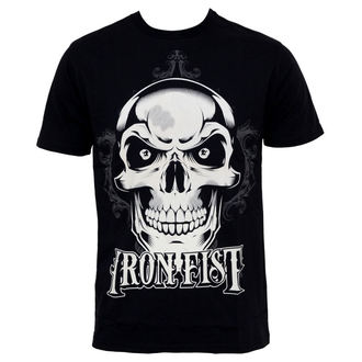 tričko pánske IRON FIST - New Deal Skull - BLACK