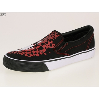 topánky DRAVEN - Adicts Jester Slip On - MCAD 005 - BLK, DRAVEN, Adicts
