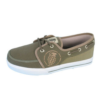 topánky GRENADE - Boat shoes - GREEN