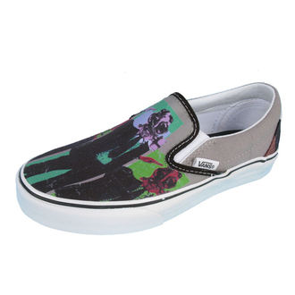 topánky VANS - Classic Slip-on (Rise Against Man) - GRY/BLK, VANS, Rise Against