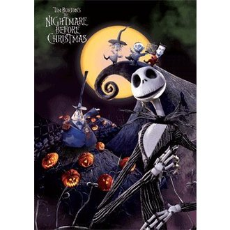 obraz 3D Nightmare Before Christmas (A3 3d) - PYRAMID POSTERS, NIGHTMARE BEFORE CHRISTMAS