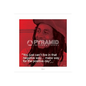 plagát Bob Marley (I. Quote - Positive Day) - Pyramid Posters - PPR45232