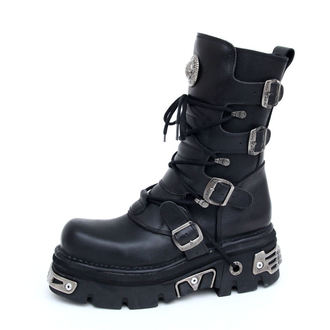 Topánky New rock - Basic Boots (373-S4) Black - N-8-02-700-00