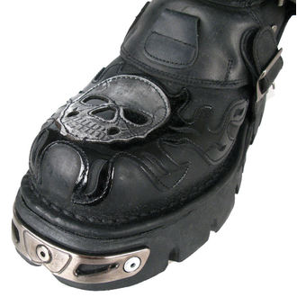 Topánky New rock - Chain Boots (727-S1) Black