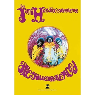 vlajka Jimi Hendrix - Are you Experienced, HEART ROCK, Jimi Hendrix