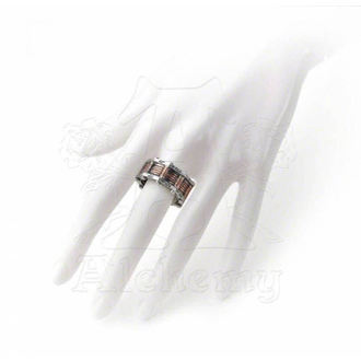 prsteň Hi-Voltage Toric Generator Ring ALCHEMY GOTHIC - R149