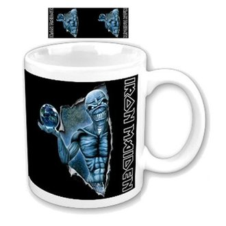 hrnček Iron Maiden - Different World Boxed Mug - ROCK OFF, ROCK OFF, Iron Maiden