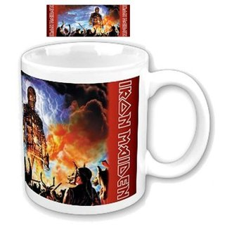 hrnček Iron Maiden - Wicker Man Boxed Mug - ROCK OFF - IMMUG03
