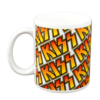 hrnček - KISS - Boxed Mug Kiss (Tiles) - ROCK OFF - KISSMUG01