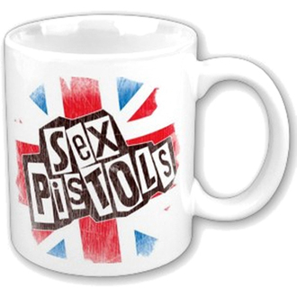 hrnček Sex Pistols - Logo Flag Fridge Boxed Mug - ROCK OFF - SPMUG02
