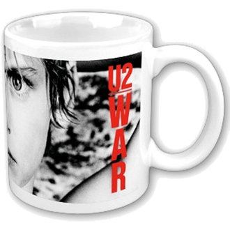 hrnček U2 - War Boxed Mug - ROCK OFF, ROCK OFF, U2