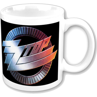 hrnček ZZ Top - ZZ Top Logo Mug - ROCK OFF, ROCK OFF, ZZ-Top