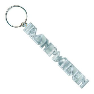 kľúčenka (prívesok) Iron Maiden - Logo with No Tails Key Chain - ROCK OFF - IMKEY02