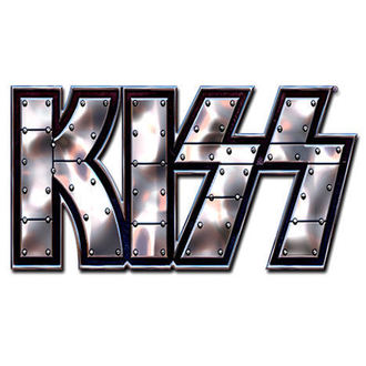 pripináčik Kiss - Stud Logo pin badge - ROCK OFF - KISSPIN01