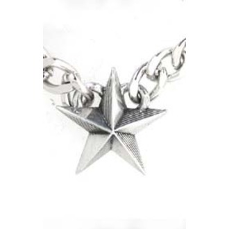 obojok Nautical Star Cuban Pendant - ALCHEMY GOTHIC