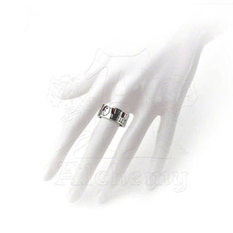 prsteň Love/Hate Ring - ALCHEMY GOTHIC