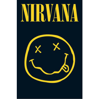 plagát - Nirvana - Smiley - LP1416 - GB posters
