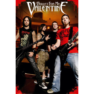 plagát - Bullet For my Valentine - Theatre - LP1377 - GB posters
