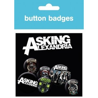 odznaky Asking Alexandria - Graphics - BP0387 - GB posters