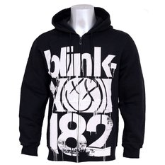 mikina pánska Blink 182 - Three Bars, ATMOSPHERE, Blink 182