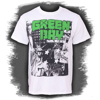 tričko pánske Green Day - State of Liberty, BRAVADO, Green Day