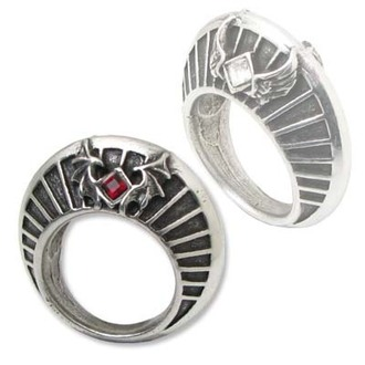 prsteň Heaven And Hell - Nimbus Ring - ALCHEMY GOTHIC - R163