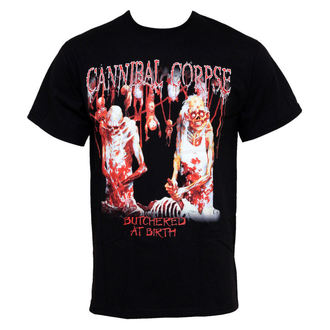 tričko pánske Cannibal Corpse - Butchered At Birth, PLASTIC HEAD, Cannibal Corpse