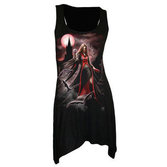 šaty dámske SPIRAL - Blood Moon - Gothbotm Viscose - AS135234