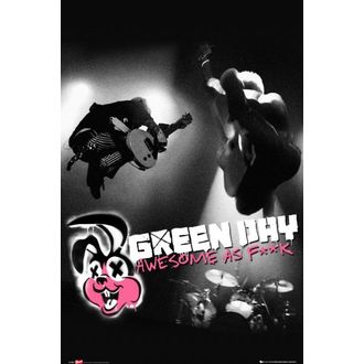 plagát Green Day - Awesome As - LP1459 - GB posters