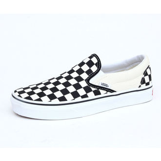 topánky VANS - Classic Slip On - Black And White Checker - White - VEYEBWW