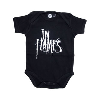 body detské In Flames - Logo - Black - Metal-Kids
