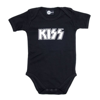 body detské Kiss - Logo - Black - Metal-Kids