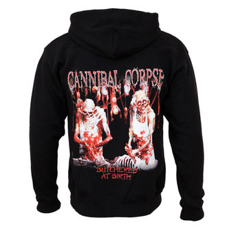 mikina pánska Cannibal Corpse - Butchered At Birth - PLASTIC HEAD, PLASTIC HEAD, Cannibal Corpse
