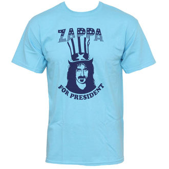 tričko pánske Frank Zappa - Zappa For President - Blue - PLASTIC HEAD - PH7118