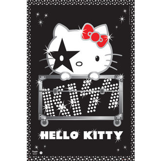 plagát Hello Kitty - Kiss Tour - No Germany - GB Posters - GN0665