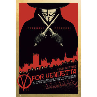 plagát V For Vendetta One Sheet - GB Posters - FP2713