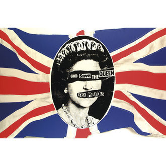 plagát Sex Pistols - God Flag - GB Posters, GB posters, Sex Pistols
