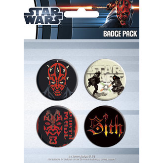 odznaky - Star Wars - Darth Maul - GB Posters - BP0283