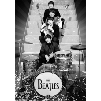 obraz 3D The Beatles - On Stage - GB Posters - LN0074