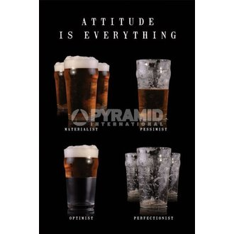 plagát Attitude Is Everything - Pyramid Posters - PP31518