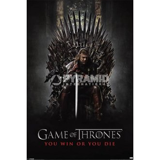 plagát Game Of Thrones - You Win Or You Die - Pyramid Posters - PP32676