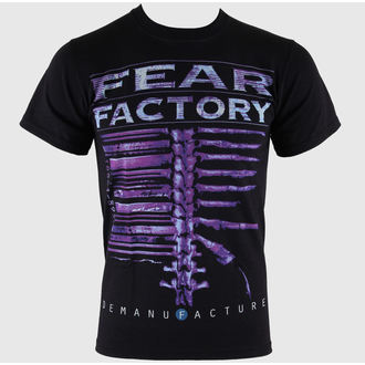 tričko pánske Fear Factory - Demanufacture - Black - LIVE NATION, LIVE NATION, Fear Factory