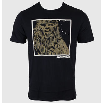 tričko pánske STAR WARS - Chewie Icon - Black, STAR WARS