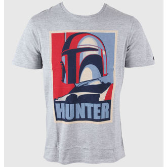 tričko pánske STAR WARS - Hunter - Grey, STAR WARS